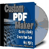 Thumbnail Custom PDF Maker Software - MASTER RESALE RIGHTS
