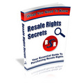 Thumbnail Resale Rights Secrets - MASTER RESALE RIGHTS INCLUDED!