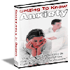 Thumbnail Getting To Know Anxiety - MASTER RESALE RIGHTS