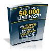 *ALL NEW!*  Build Me A 50,000 List - MASTER RESALE RIGHTS INCLUDED!