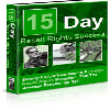 Thumbnail 15 Days To Resale Rights Success - MASTER RESALE RIGHTS