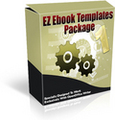 Thumbnail *ALL NEW!* - EZ Ebook Template Package #1 - MASTER RESALE RIGHTS INCLUDED!