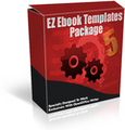 Thumbnail EZ Ebook Templates Package #5 - MASTER RESALE RIGHTS INCLUDED!