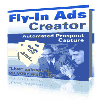 Thumbnail Fly In Ads Creator - MASTER RESALE RIGHTS