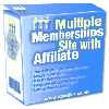 Thumbnail *NEW*  Multiple Membership Site Software - MASTER RESELL RIGHTS