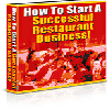 Thumbnail *ALL NEW!*  How to Start a Successful Restaurant Business - PRIVATE LABEL RIGHTS INCLUDED