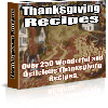 Thumbnail Thanksgiving Recipes Ebook - MASTER RESALE RIGHTS