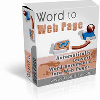 Thumbnail *ALL NEW!*  Word2Web Page - MASTER RESALE RIGHTS INCLUDED!