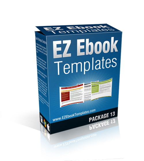 Product picture EZ Ebook Template Package #13 - MRR + Saleskit Included
