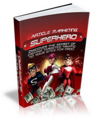 Product picture *ALL NEW* - Affiliate Marketing Superhero - MRR Included!